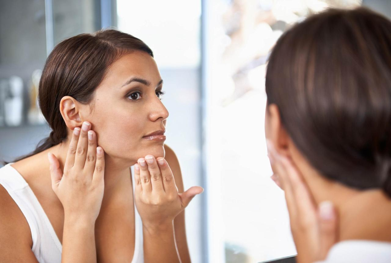 """Your forehead, nose, chin, and cheeks all need to get exfoliating love if you want your entire face to reap the benefits. """"It's hard to get consistent results with physical exfoliation, because you don't use the same pressure everywhere on the face,"""" says Dr. Schultz. Before you begin exfoliating, take a minute to really look at your skin. Problem areas can change from week to week, or even from day to day. If you notice rough, dull patches of skin, make sure to spend a few minutes on those areas. Dr. Schultz recommends that men exfoliate their noses, and foreheads, since those parts of the face don't get shaved every day. """"One of the reasons why men's facial skin ages so well is that shaving is a natural exfoliant,"""" he explains. Here's a <a rel=""""nofollow"""" href=""""http://www.rd.com/health/wellness/korean-essence/1"""">tip you must use</a> to nourish your skin during the winter months."""