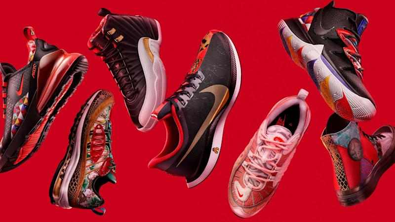 f106a75fcb9ebb Nike Is Counting Down to the Year of the Pig With a 2019 Chinese New Year  Collection