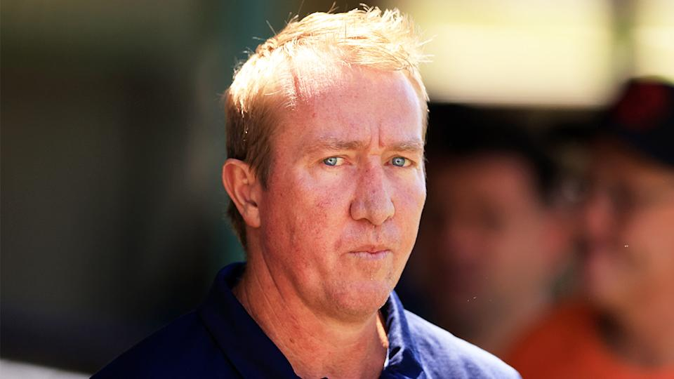 Roosters coach Trent Robinson (pictured) has been fined $10,000 for his comments about the Bunker after his team's loss. (Getty Images)