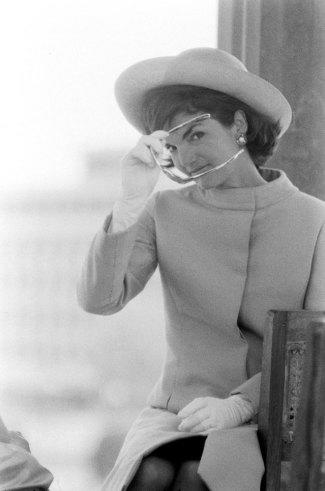 Not originally published in LIFE. Jackie Kennedy in India, 1962.