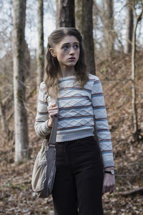 <p>Cult Netflix series 'Stranger Things' certainly had everyone talking this year and so it comes as no surprise that search for Halloween outfits inspired by the show has risen by 40 percent. Last year, we saw an influx of character-inspired looks so be warned, you probably won't be alone on this one… <em>[Photo: Pinterest] </em> </p>