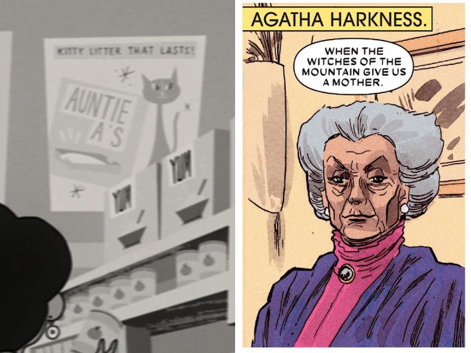 auntie a agatha harkness