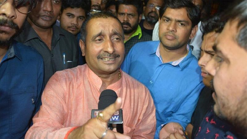 Unnao Rape Case Accused Kuldeep Singh Sengar Charged With Murder of Complainant's Father