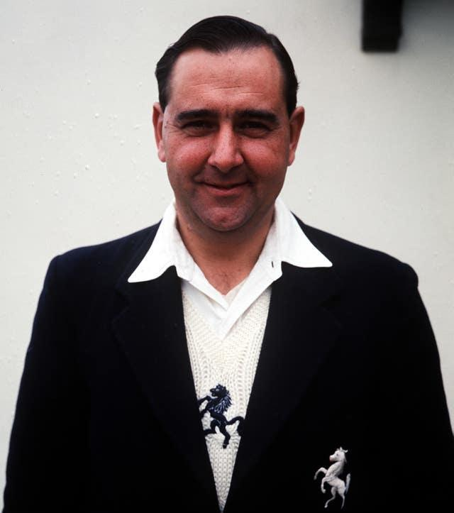 Colin Cowdrey was the first player to reach 100 Test caps