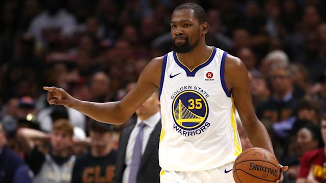 The topic of conversation has shifted from who will win the NBA Finals... to who will win NBA Finals MVP. Did Kevin Durant lock it up with his impressive performance in Game 3?