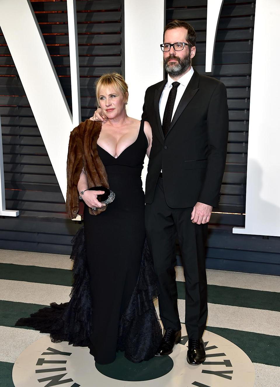 <p>Patricia Arquette and Eric White attend the 2017 Vanity Fair Oscar Party hosted by Graydon Carter at Wallis Annenberg Center for the Performing Arts on February 26, 2017 in Beverly Hills, California. (Photo by Pascal Le Segretain/Getty Images) </p>