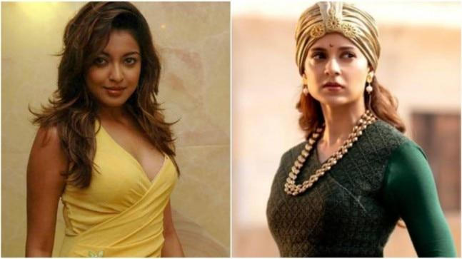 "Tanushree Dutta slammed the ""frat boys club of Bollywood and their dames"" and claimed that they were intimidated by Kangana Ranaut and her success."