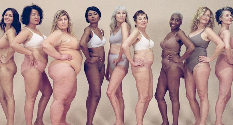 Knix debuted it's latest campaign celebrating women over 50. (Image via Knix/Photo by Sise Drummond).