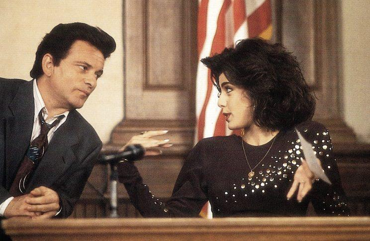 Joe Pesci and Marisa Tomei in <em>My Cousin Vinny</em>. (Image: 20th Century Fox Film Corp./Everett Collection)