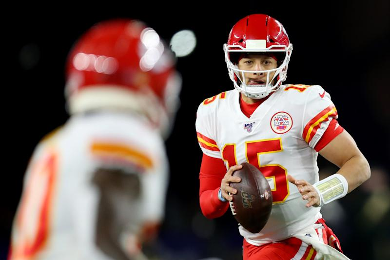 Patrick Mahomes and the Kansas City Chiefs are getting hot late in the season. (Photo by Maddie Meyer/Getty Images)