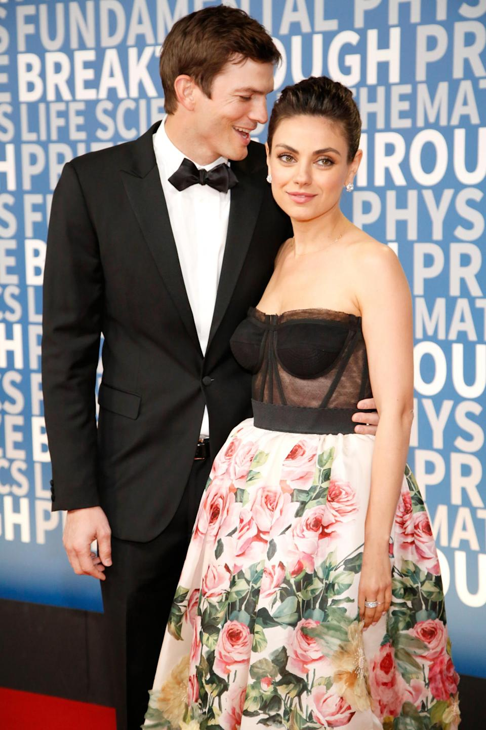 Married: Mila Kunis and Asnton Kutcher tied the knot in 2015 (Getty Images)