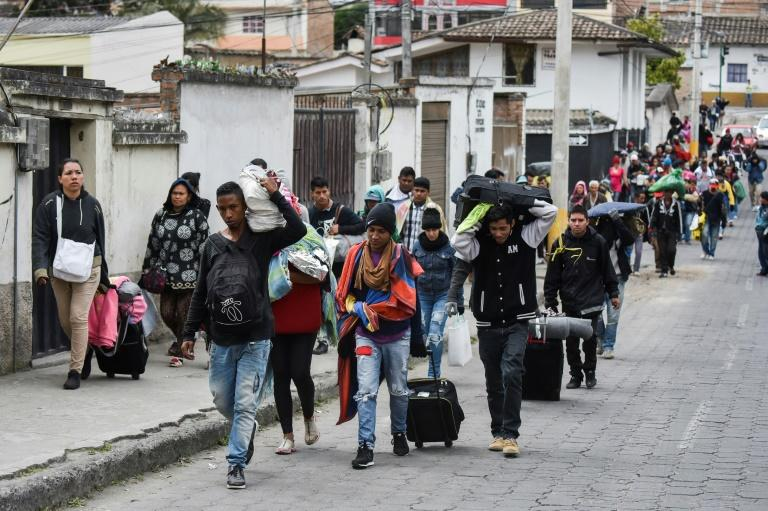 Ecuador and Peru's measures to slow the influx of Venezuelan migrants have worried Colombia which is already saturated