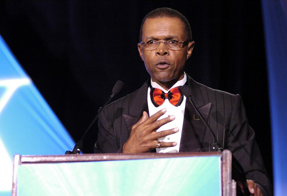 NFL legend Gale Sayers died at the age of 77. (Photo by Frank Mullen/WireImage)