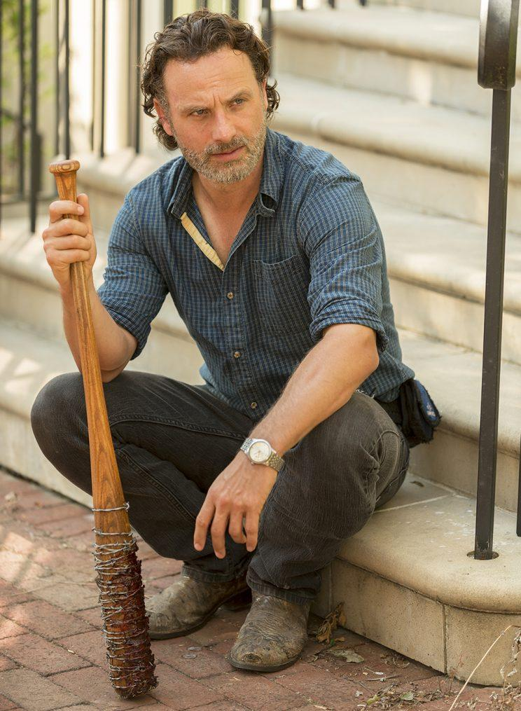 Andrew Lincoln as Rick Grimes (Credit: Gene Page/AMC)