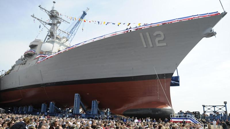 US lawmakers protest proposed cuts to shipbuilding