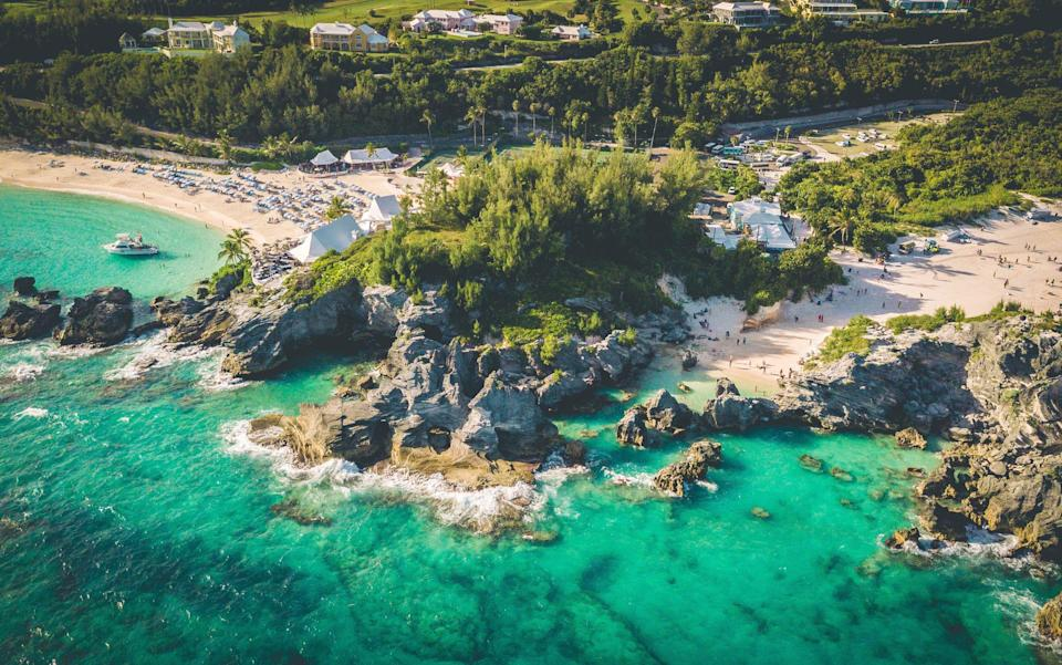 Bermuda, a British Overseas Territory, is expected to get an air bridge with the UK for summer - getty