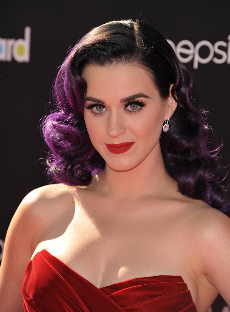"""Katy Perry attends the premiere of """"Katy Perry: Part of Me"""" at Grauman's Chinese Theatre on Tuesday, June 26, 2012 in Los Angeles. (Photo by John Shearer/Invision/AP)"""