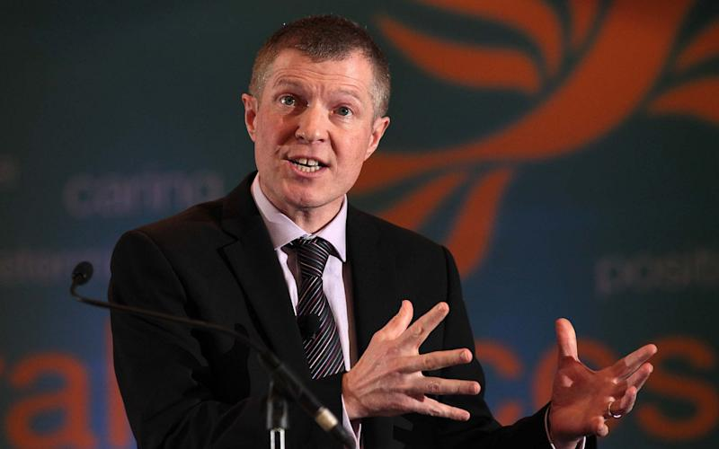 Willie Rennie said Lib Dem MPs would oppose a Section 30 order - Credit: PA