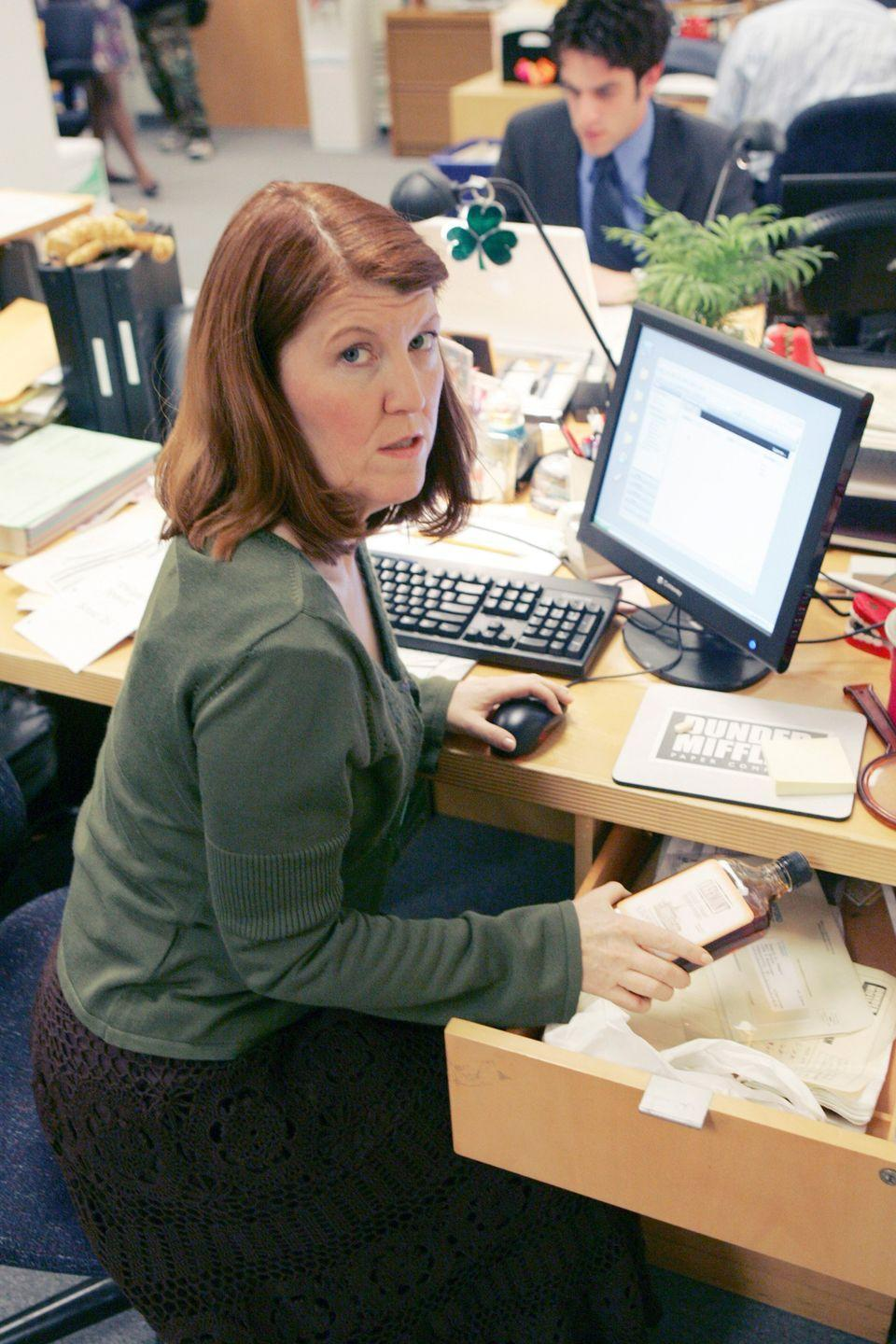 <p>Meredith Palmer was a sales rep known for her promiscuity and tendency to party a little <em>too</em> hard. </p>