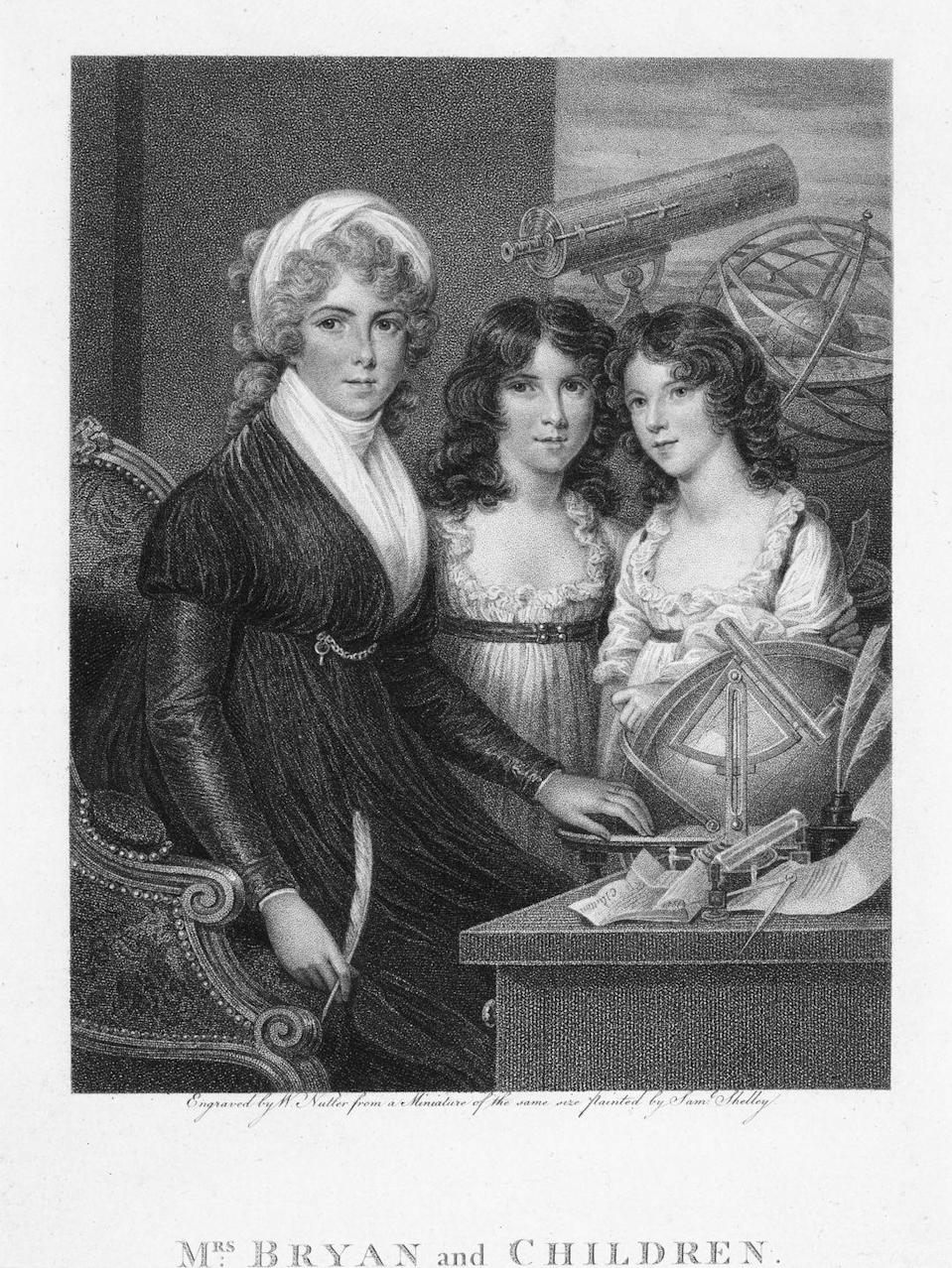 <p>By the end of the 18th century, women's clothing became a little less structured. Empire waists were now the fashion, and a draped high neckline allowed for more fluid movement. </p>