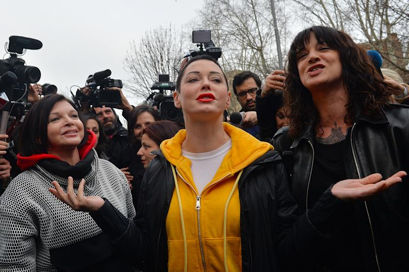 Asia Argento threatens legal action against Rose McGowan over 'horrendous lies'