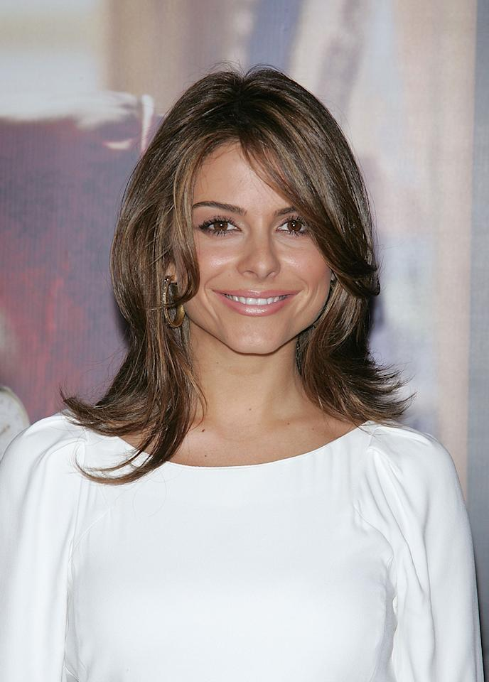"""<a href=""""http://movies.yahoo.com/movie/contributor/1808433990"""">Maria Menounos</a> at the New York premiere of <a href=""""http://movies.yahoo.com/movie/1810026489/info"""">W.</a> - 10/14/2008"""