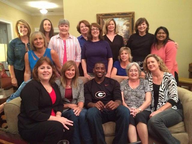 Meet the Silverleaf Book Club. Guess which one played in the SEC. (Photo courtesy of Kathy Rackley)