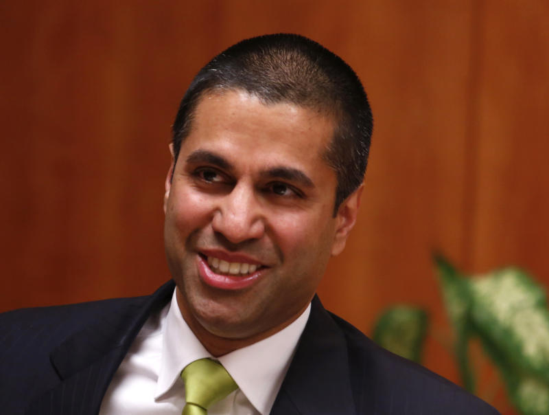 FCC Head Ajit Pai Jokes About Being Verizon's 'Puppet' Ahead of Net Neutrality Rollback