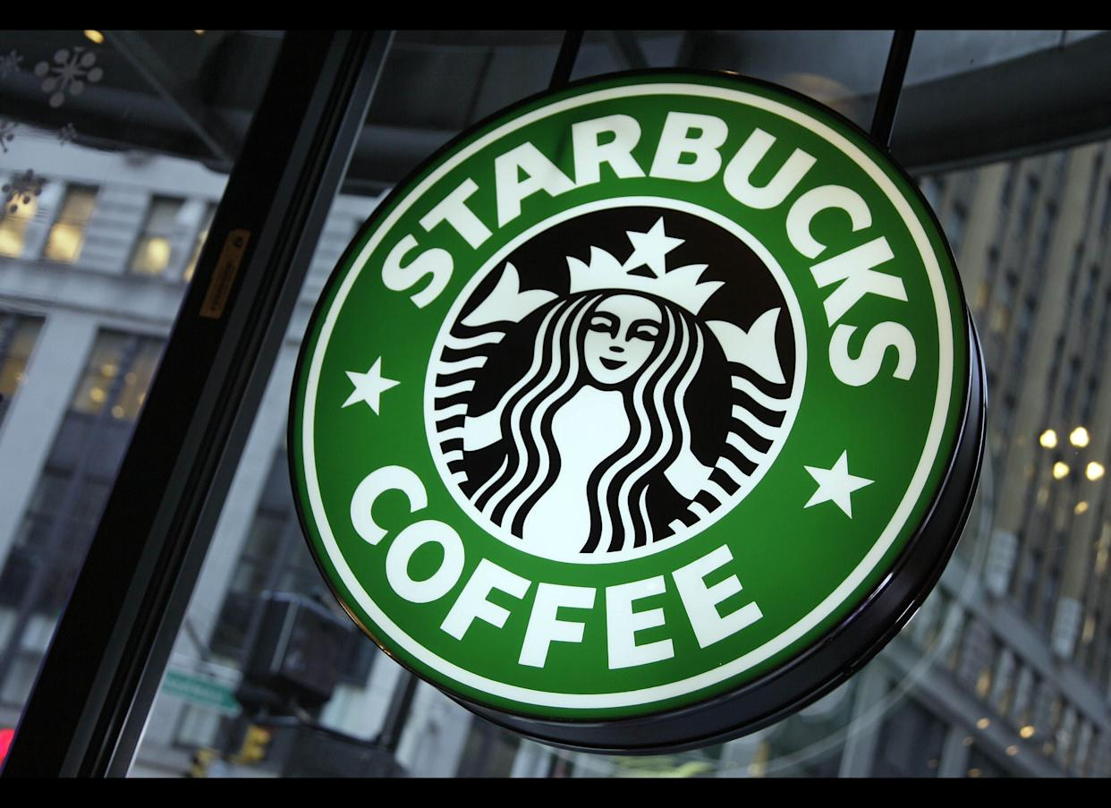 A man is suing Starbucks after his 5-year-old daughter allegedly found a video camera pointed at the toilet in a bathroom in one of their cafes, Reuters reported.