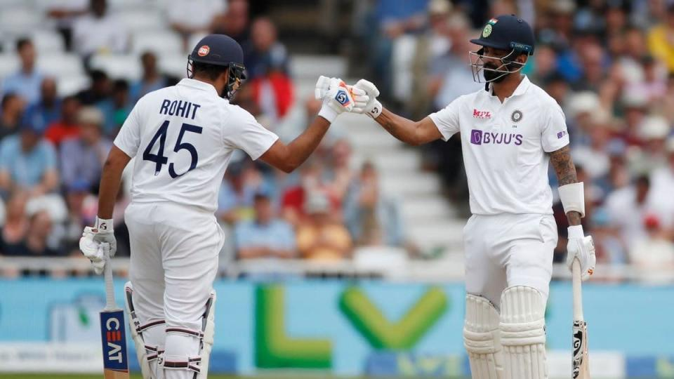 IND vs ENG 1st Test: Rohit Sharma & KL Rahul shine as opening pair