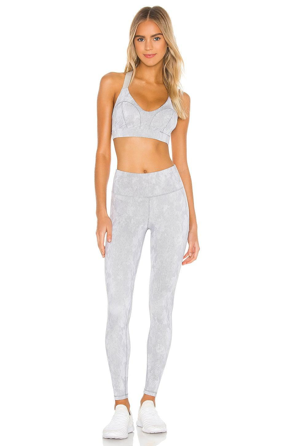 <p>This <span>Lilybod Zinnia Crop Sports Bra</span> ($58) and <span>High Waist Full Length Legging</span> ($82) is both cute and made to move in.</p>