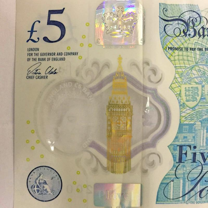 £5 note  - Credit: APEX