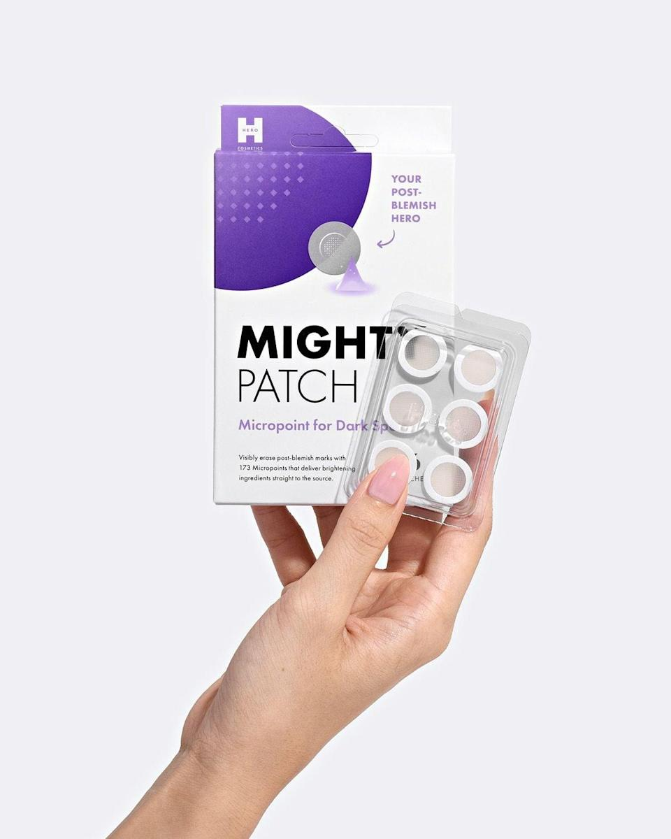"<p>""As a hormonal acne-suffer, I'm guilty of picking my skin from time to time. It often leaves me with dark marks and scars left over that take months to fade. Sometimes a brightening serum just isn't enough. I just started using these new <a href=""https://www.popsugar.com/buy/Hero-Cosmetics-Micropoint-Dark-Spots-578602?p_name=Hero%20Cosmetics%20Micropoint%20for%20Dark%20Spots&retailer=herocosmetics.us&pid=578602&price=13&evar1=bella%3Aus&evar9=47519595&evar98=https%3A%2F%2Fwww.popsugar.com%2Fbeauty%2Fphoto-gallery%2F47519595%2Fimage%2F47520685%2FHero-Cosmetics-Micropoint-for-Dark-Spots&list1=must%20haves%2Ceditors%20pick%2Cskin%20care&prop13=mobile&pdata=1"" class=""link rapid-noclick-resp"" rel=""nofollow noopener"" target=""_blank"" data-ylk=""slk:Hero Cosmetics Micropoint for Dark Spots"">Hero Cosmetics Micropoint for Dark Spots</a> ($13) and after one use, I saw a dramatic change in a few of my blemishes marks. I tried one on my face and one on my chest, and they look so much lighter. These patches are total game-changers. I'll be purchasing another pack soon (which is a good thing, because for the entire first week of June, the brand will be <a href=""https://www.popsugar.com/beauty/beauty-brands-supporting-black-community-47520914"" class=""link rapid-noclick-resp"" rel=""nofollow noopener"" target=""_blank"" data-ylk=""slk:donating 100 percent of proceeds from the launch"">donating 100 percent of proceeds from the launch</a> to the NAACP Legal Defense and Education Fund charity, up to $10,000)."" - Krista Jones, associate editor, Shop</p>"