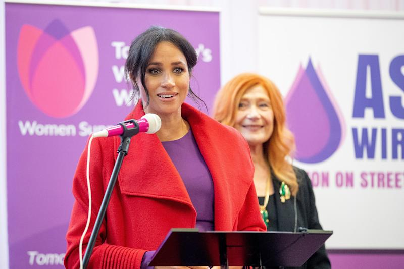 File photo dated 14/01/19 of Duchess of Sussex who, with the Duke of Sussex, is to join education campaigner Malala Yousafzai to celebrate International Day of the Girl.