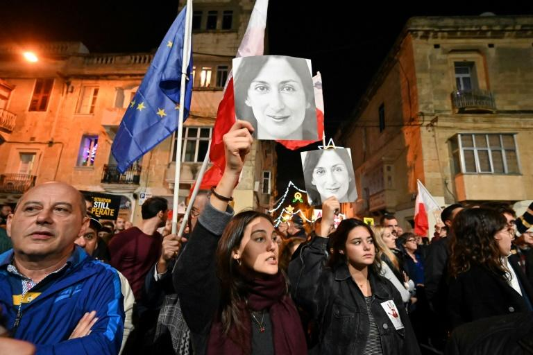 A rising tide of mass protests have called for Malta's prime minister to resign in the wake of the journalist's killing