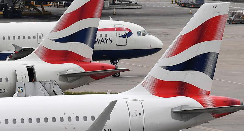 The unidentified passenger was removed from a British Airways flight from Glasgow to Heathrow.