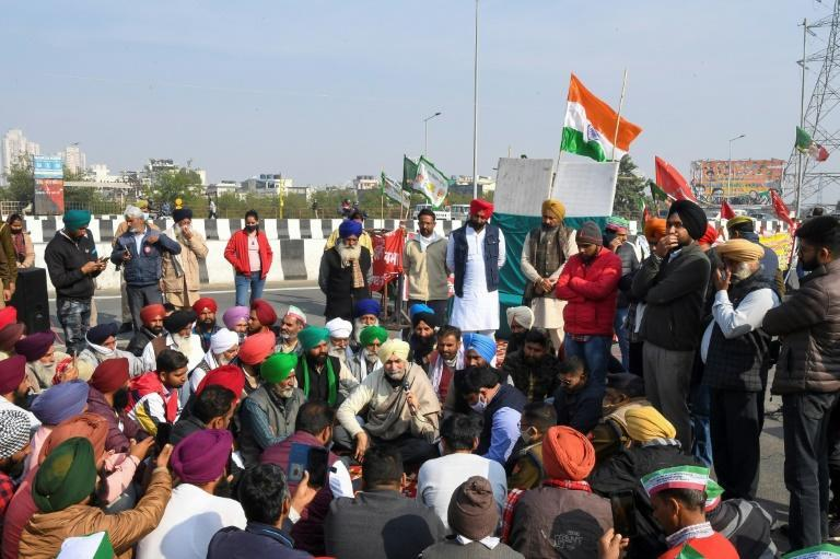 Protesting farmers say the new laws will destroy their livelihoods
