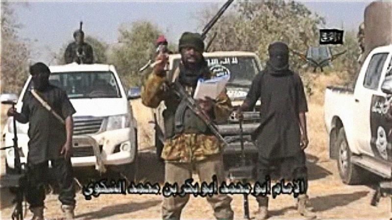 The leader of the Islamist extremist group Boko Haram Abubakar Shekau (AFP Photo/-)