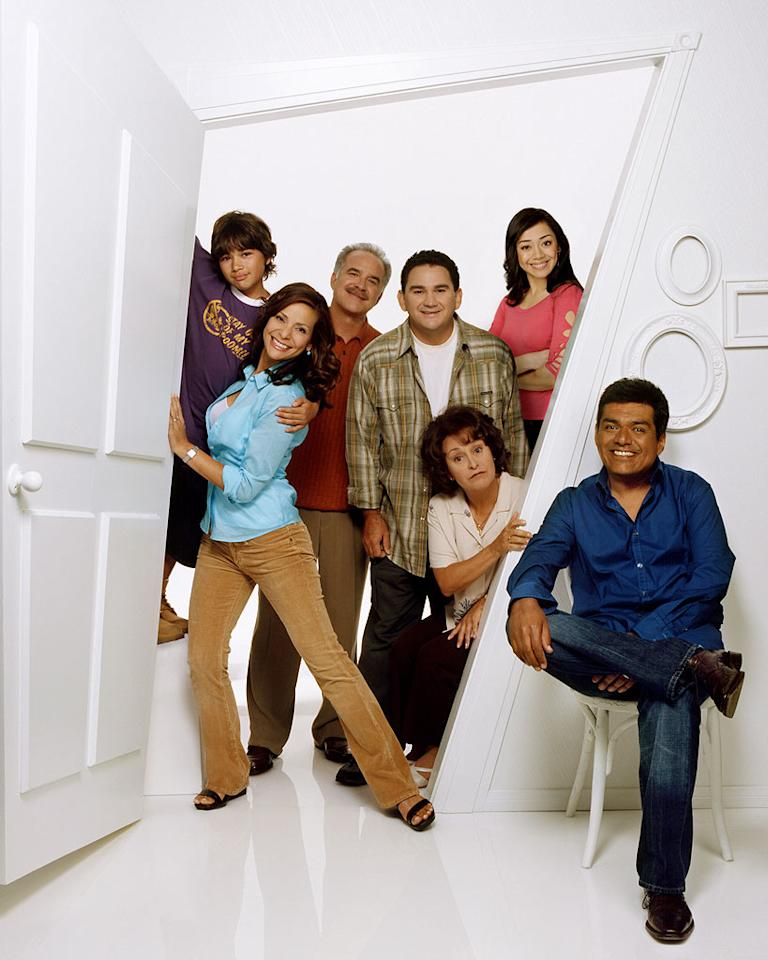 The cast of George Lopez on ABC.