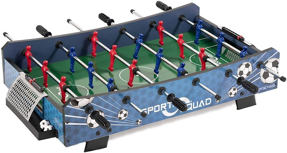 <p><span>Sport Squad Table Top Foosball Table</span> ($57, originally $60)</p>