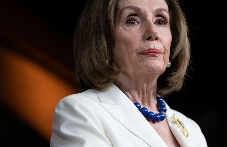 US House Speaker Nancy Pelosi said Trump 'abused his power for his own political benefit at the expense of our national security'