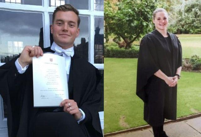 Saskia Jones and Jack Merritt, both 23, were killed in the attack (Picture: PA)