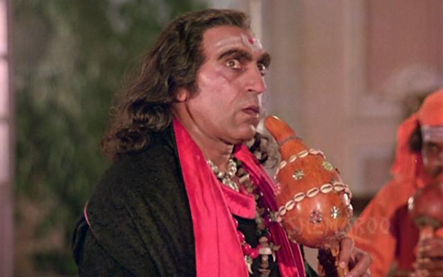Amrish Puri : Amrish Puri was the villain in Indiana Jones and the Temple of Doom (1984).