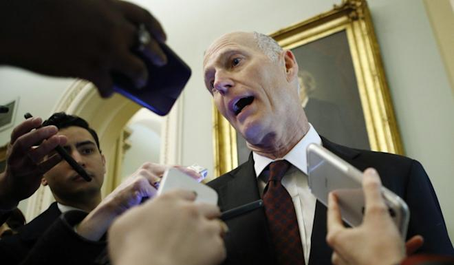 US Senator Rick Scott has introduced legislation to further restrict US companies from selling products to Huawei. Photo: AP