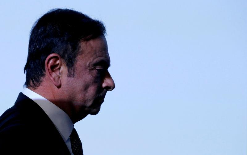 Ghosn suffers high fever, interrogation suspended
