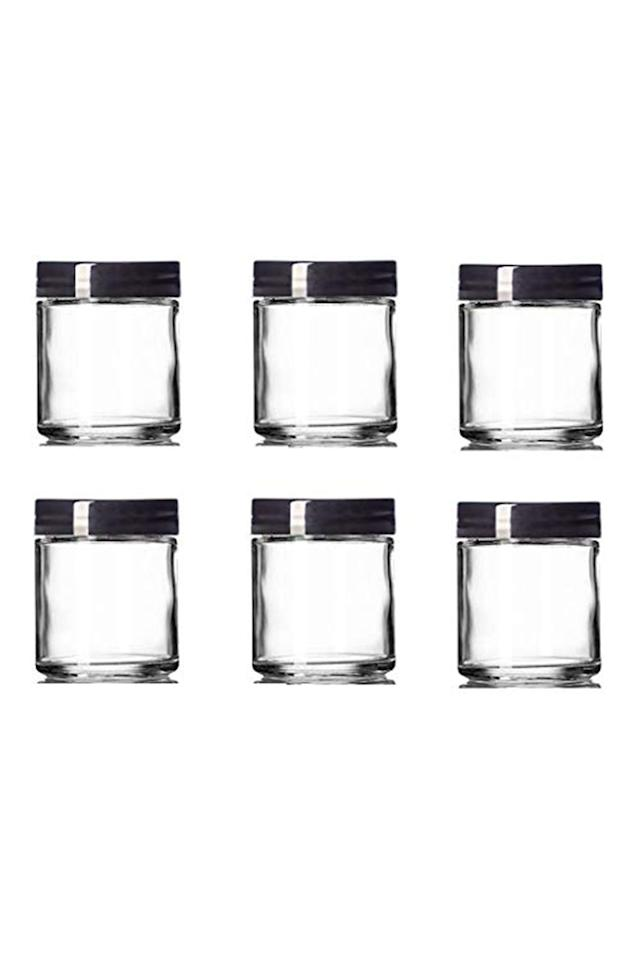 """<p><strong>Premium Vials</strong></p><p>amazon.com</p><p><strong>$17.99</strong></p><p><a href=""""http://www.amazon.com/dp/B074T11VLQ/?tag=syn-yahoo-20&ascsubtag=%5Bartid%7C10055.g.3095%5Bsrc%7Cyahoo-us"""" target=""""_blank"""">Shop Now</a></p><p>Got a few extra jars on hand? Use them to organize your lipsticks and glosses. Then you can arrange them any way you want: by packaging (tubes versus sticks), by color, or even by brand. </p><p><strong>RELATED:</strong> <a href=""""https://www.goodhousekeeping.com/home/organizing/tips/g424/master-bathroom-organizing/"""" target=""""_blank"""">20 Smart Bathroom Organizing Ideas That'll Make Getting Ready So Much Easier</a></p>"""