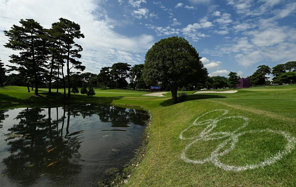 The Kasumigaseki Country Club is ready for Olympic golf. (Photo By Ramsey Cardy/Sportsfile via Getty Images)