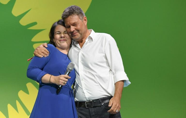 The Greens had hoped to do better with the climate crisis a top voter concern this year (AFP/Tobias SCHWARZ)