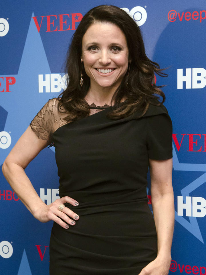 """Veep"" star Julia Louis-Dreyfus is a guest of Time."