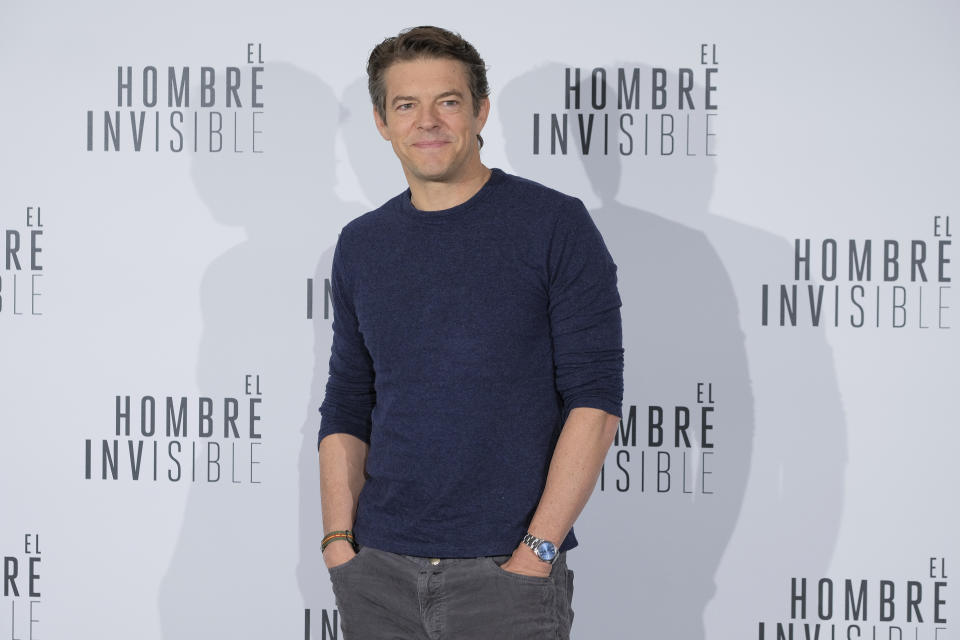 American producer Jason Blum attends 'El Hombre Invisible' photocall at Villamagna Hotel on February 19, 2020 in Madrid, Spain.  (Photo by Oscar Gonzalez/NurPhoto via Getty Images)